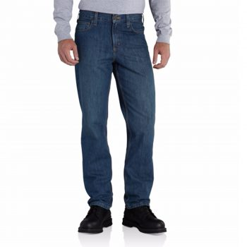 Carhartt Men's Straight/Traditional-Fit Elton Jean