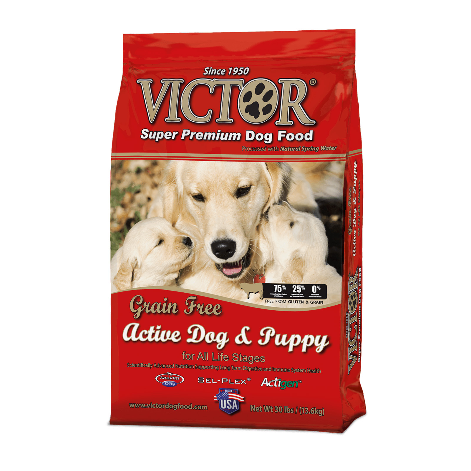victor dog food sold near me