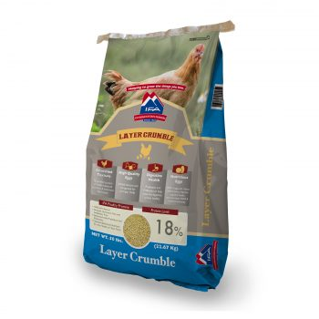 IFA All Natural Poultry Layer Crumble 18%