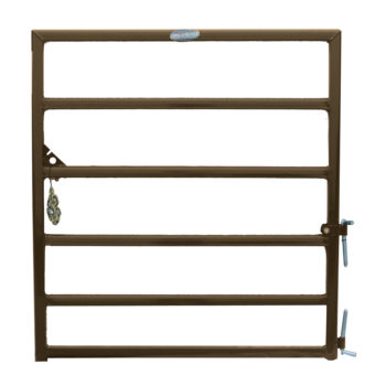 Priefert D-Gate Brown