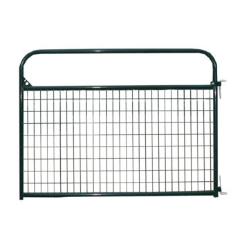 Priefert Wire Filled Gate Green