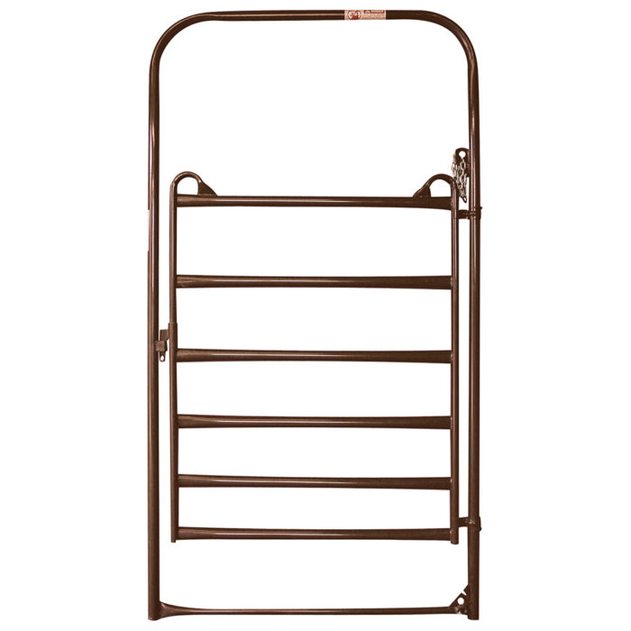 Priefert Bow Gate Utility Brown