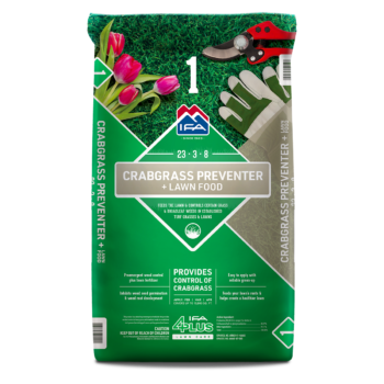Crabgrass Preventer + Lawn Food
