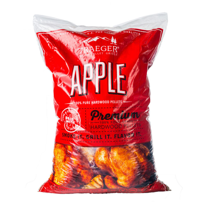 Traeger Apple BBQ Hardwood Pellets