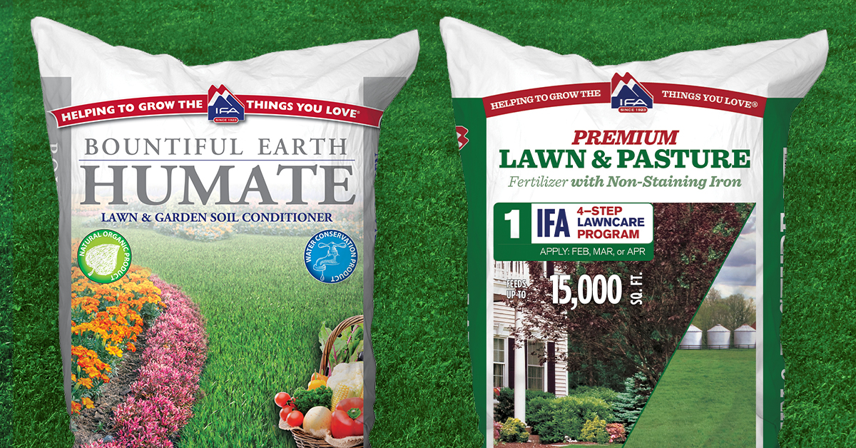 Spring Fertilizer Step 1 To A Healthy Lawn Ifa Country