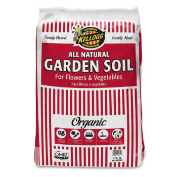 Kellogg Garden Organics Garden Soil for Flowers & Vegetables