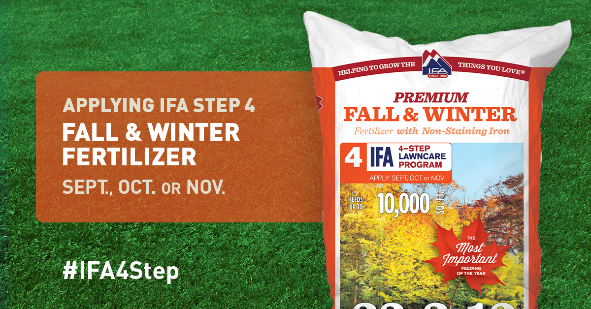 Fall Winter Fertilizer Step 4 To A Healthy Lawn Ifa Country