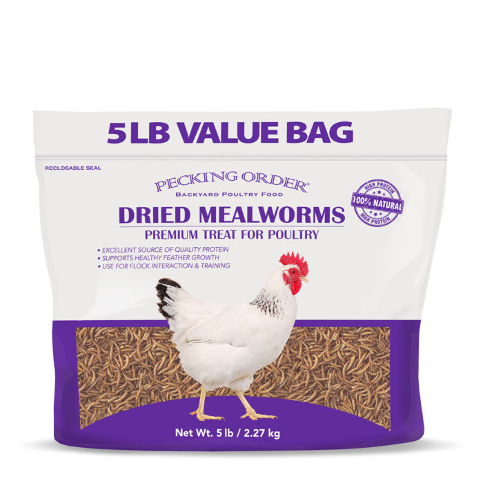 Pecking Order Dried Mealworms