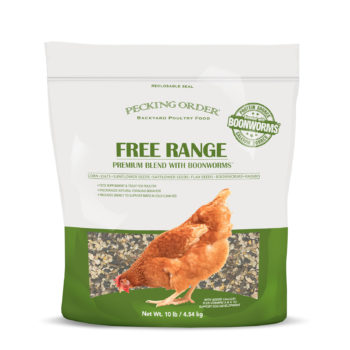 Pecking Order Free Range Blend with Boonworms