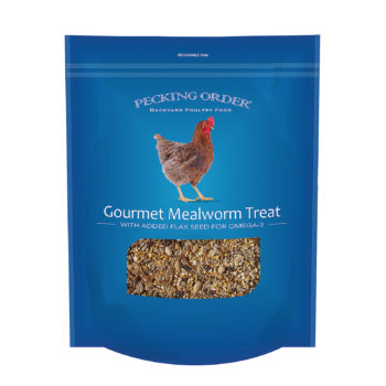Pecking Order Gourmet Mealworm Treat